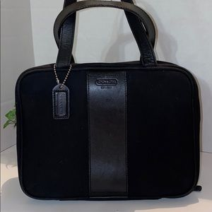 Coach toiletry cosmetic carry case
